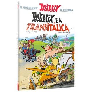 Livro Asterix e a Transitálica - Uderzo - Record