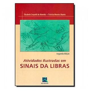 Livro - Atividades Ilustradas em Sinais da Libras - Almeida