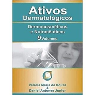 Livro - Ativos Dermatológicos - Dermocosméticos e Nutracêuticos 9 Volumes - Souza
