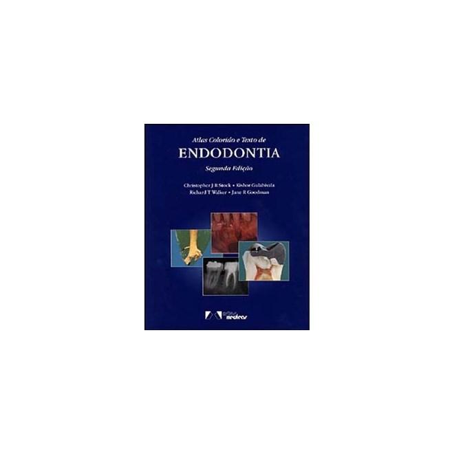 Livro - Atlas colorido e texto de Endodontia - Stock