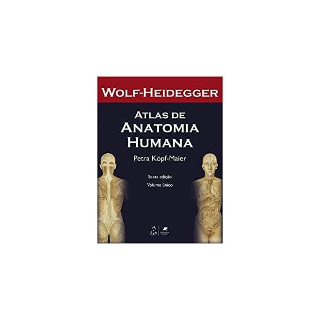 Livro - Atlas de Anatomia Humana 2 Volumes - Heidegger