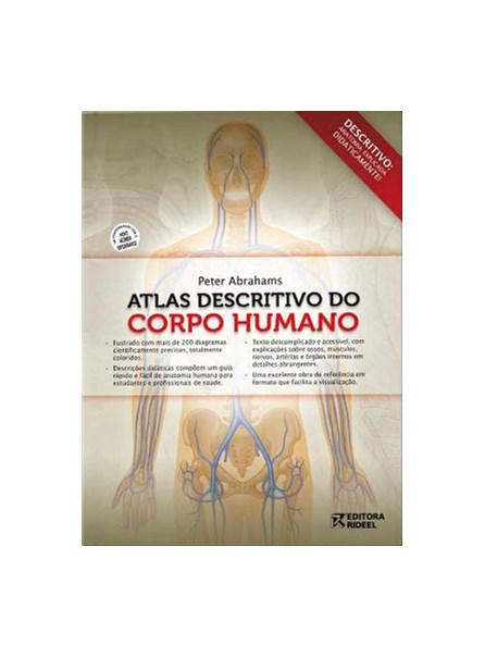 Livro - Atlas Descritivo do Corpo Humano - Abrahams