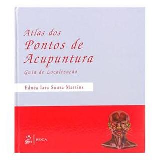Livro - Atlas dos Pontos de Acupuntura - Martins