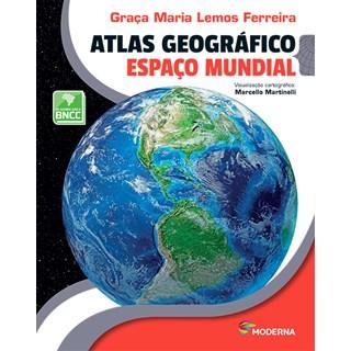 Livro Atlas Geográfico - Ferreira - Moderna