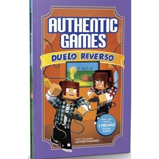 Livro - Authenticgames: Duelo Reverso - Túlio - Astral Cultural