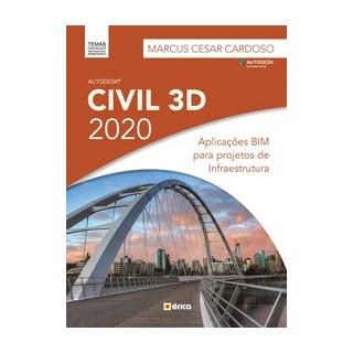 Livro - Autodesk Civil 3D 2020 - Cardoso 1º edição