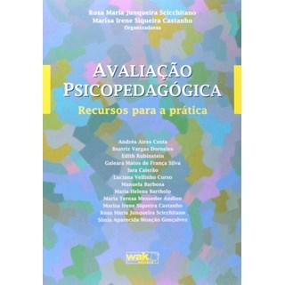 Livro Avaliação Psicopedagógica - Scicchitano - Wak Editora