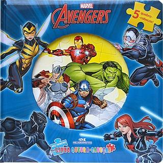 Livro - Avengers - Meu Primeiro Livro Quebra-Cabeças - Melhoramentos