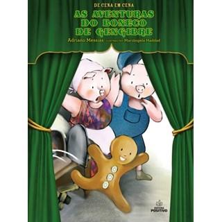 Livro  Aventuras do Boneco de Gengibre, As - Messias - Positivo