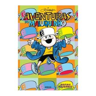 Livro - Aventuras do Maluquinho - Ziraldo 1º edição