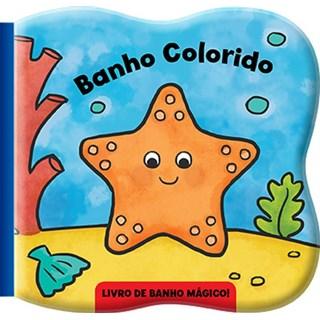Livro - Banho Colorido Estrela do Mar - Libris