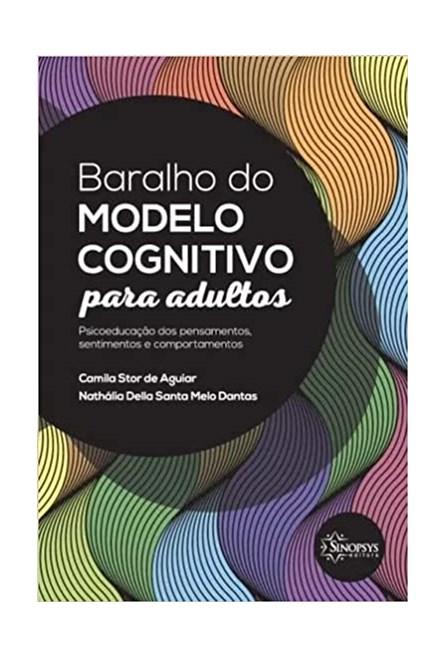 Livro - Baralho do Modelo Cognitivo para Adultos - Aguiar
