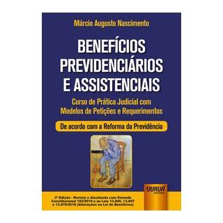 Livro - Benefícios Previdenciários e Assistenciais - Nascimento 3º edição