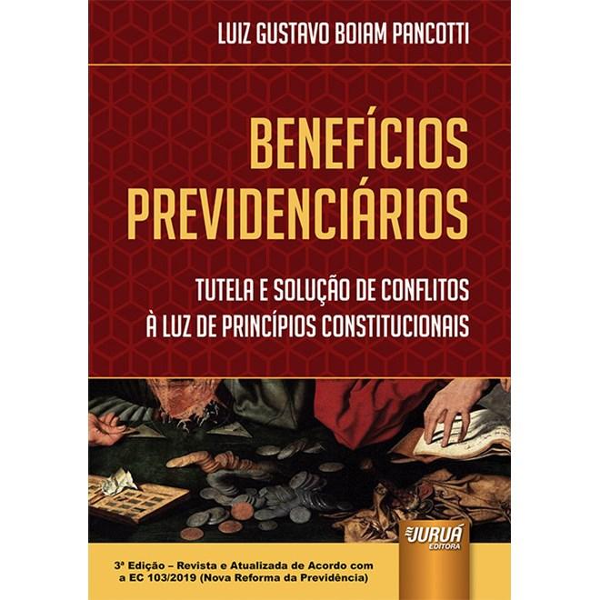 Livro - Benefícios Previdenciários - Pancotti - Juruá