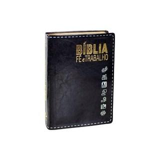 Livro - Bíblia Fé e Trabalho - Sociedade Bíblica do Brasil 3º edição
