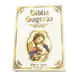 Livro - Bíblia Ilustrada - Edição Luxo