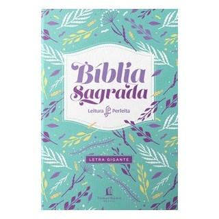 Livro - Bíblia leitura perfeita - Letra gigante (capa feminina) - Thomas Nelson Brasil 1º edição