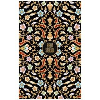 Livro - Bíblia Sagrada NVI, Capa Dura, Floral Vintage - Thomas Nelson Brasil 1º edição
