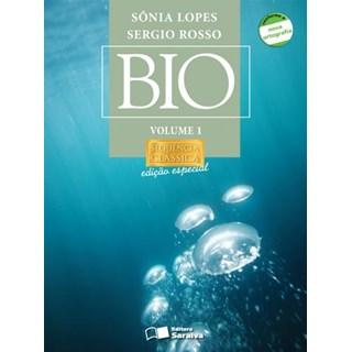 Livro - Bio Sonia Lopes Sequência Clássica - Vol 1 - Saraiva