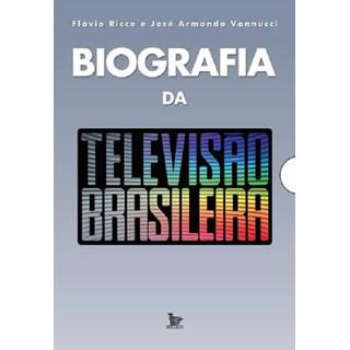 Livro - Biografia da Televisão Brasileira - Vanucci