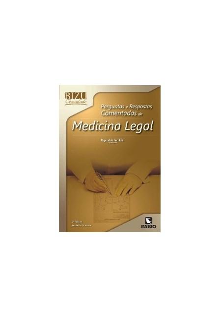 Livro - Bizu Comentado Perguntas e Respostas Comentadas de Medicina Legal - Franklin