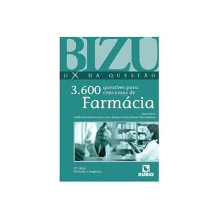 Livro - Bizu Ox da Questão - 3.600 Questões para Concursos de Farmácia - Ferreira