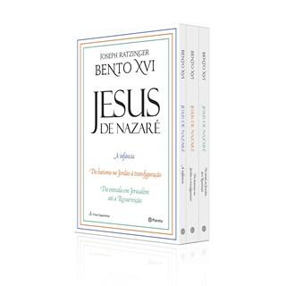 Livro Box Coletânea Jesus de Nazaré - Ratzinger - Planeta