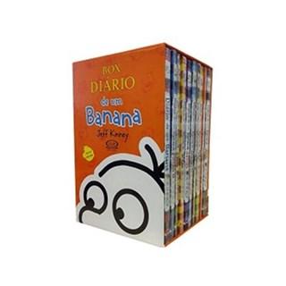 Livro - Box Diário de um Banana vol 1 ao 10 - Edição de Colecionador - Kinney