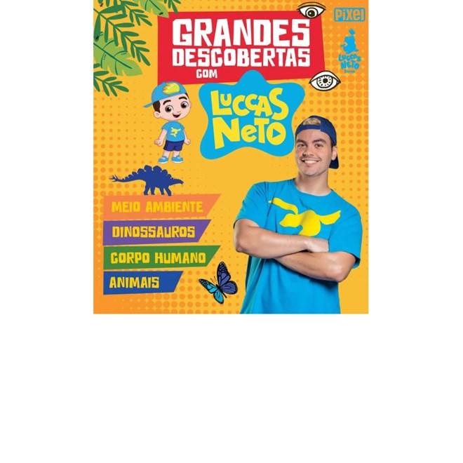 Livro - Box Grandes Descobertas Com Luccas Neto