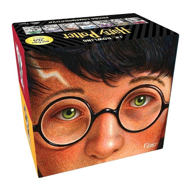 Livro - Box Harry Potter - Edição Comemorativa 20 Anos - Rocco