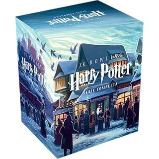 Livro Box Harry Potter - Série Completa 7 volumes - Rowlinw