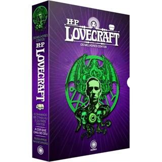 Livro - Box HP Lovecraft : Os melhores contos - 3 volumes Ed: out/2020 - Lovecraft 2º edição