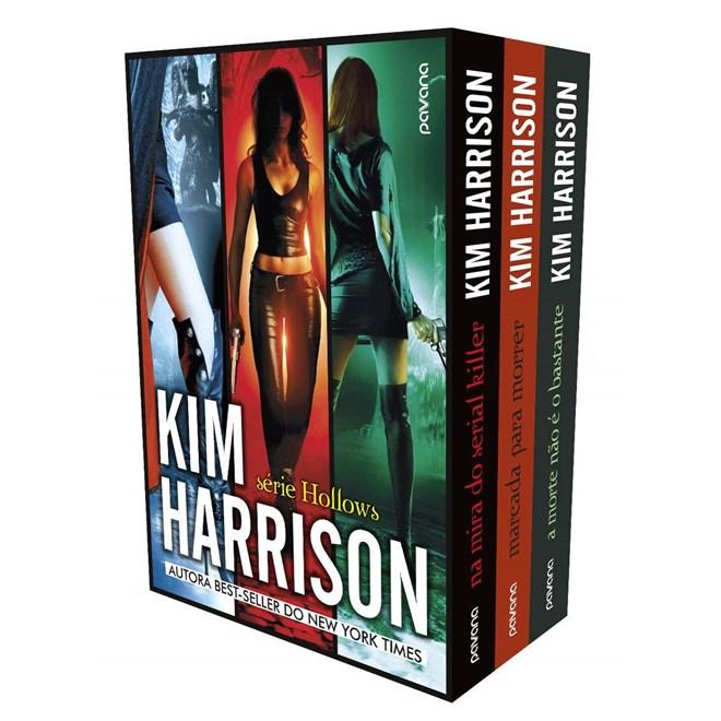 Livro Box Kim Harrison - Pavana