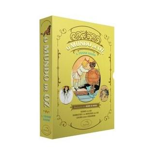 Livro - Box O Mundo de Oz: Ozma de Oz + Dorothy e o Mágico em Oz + Livro para colorir - Baum 1º ediç