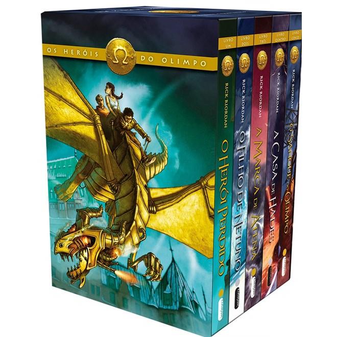 Livro - Box Os Heróis do Olimpo - Riordan - Intrínseca