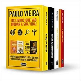Livro - Box - Paulo Vieira - 4 Volumes  - Vieira