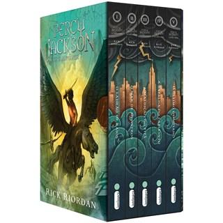 Livro Box Percy Jackson e os Olimpianos - Riordan - Intrínseca