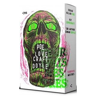 Livro Box Terríveis Mestres - Poe - Novo Século