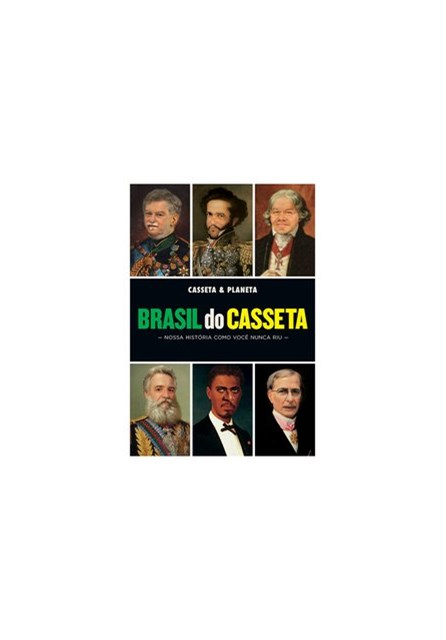 Livro - Brasil do Casseta -Casseta & Planeta