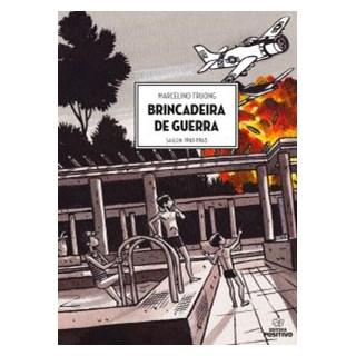 Livro - Brincadeira de Guerra - Galvão - Positivo