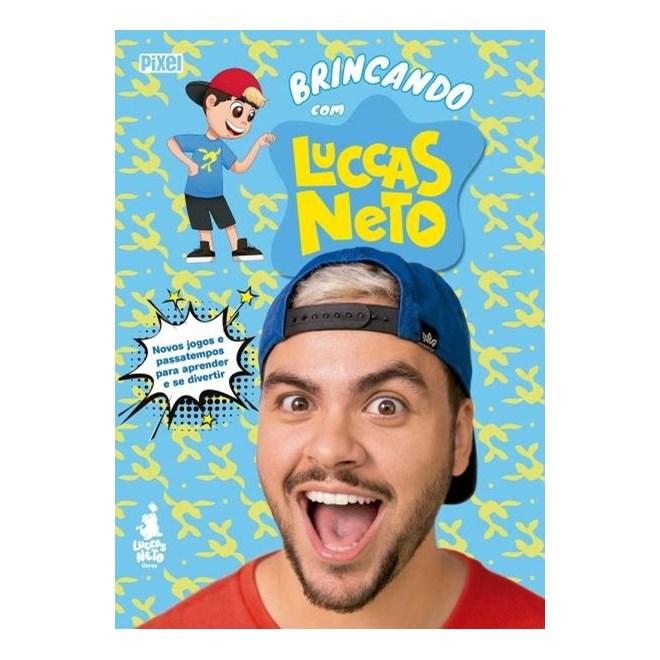 Livro - Brincando Com Luccas Neto - Neto