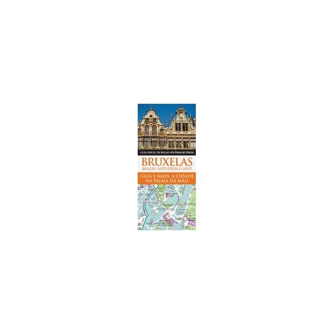 Livro - Bruxelas, Bruges, Antuérpia e Gent. Guia Visual de Bolso