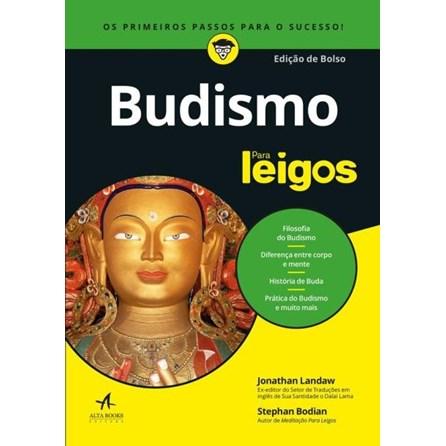 Livro - Budismo  para leigos - Edição de bolso - Laudaw