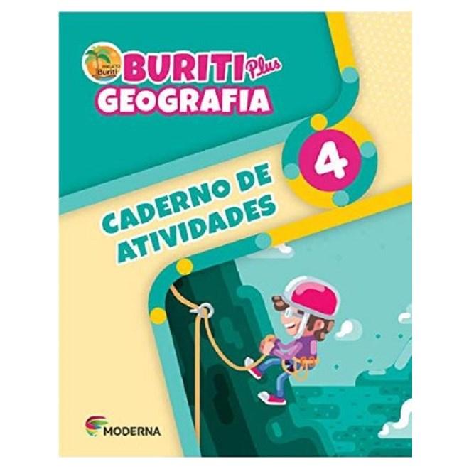 Livro - Buriti Plus Geografia - 4 Ano - Caderno de Atividades - Moderna