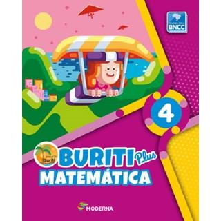 Livro - Buriti Plus Matemática - 4 Ano - Moderna