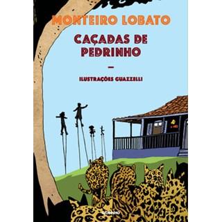 Livro - Caçadas de Pedrinho - Monteiro Lobato