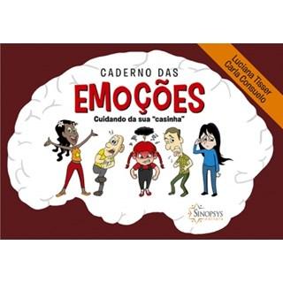 Livro - Caderno das Emoções - Cuidando da sua Casinha - Tisser 1 ediçao