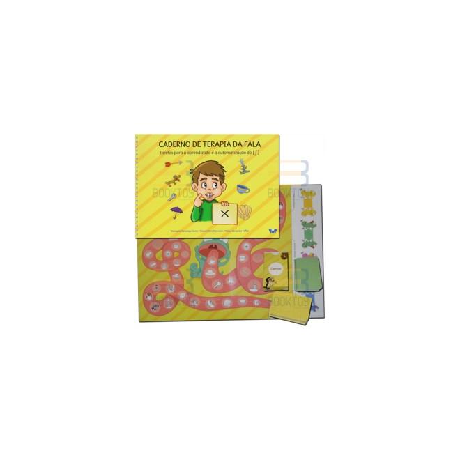 Livro - Caderno De Terapia Da Fala - Santos