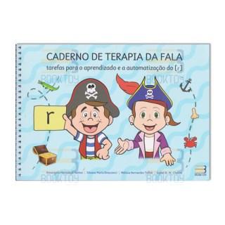 Livro - Caderno de Terapia da Fala: Tarefas para o Aprendizado e Automatização do R - Santos