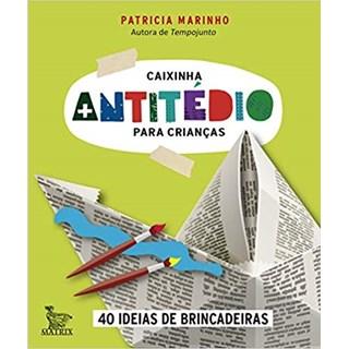 Livro - Caixinha Antitético Para Crianças - Marinho - Baralho